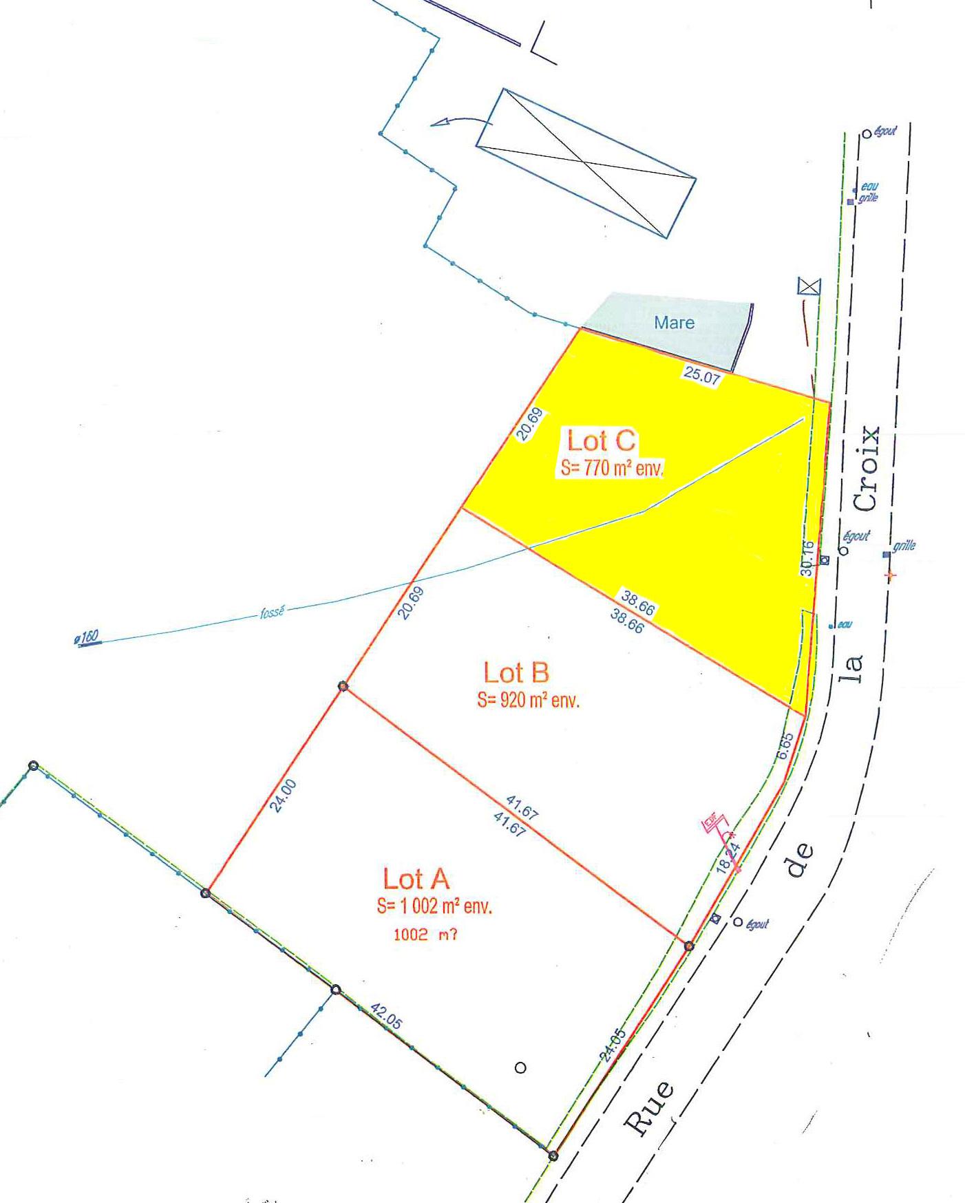 Offres de vente Terrain Paray-le-Monial 71600